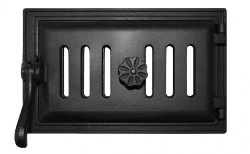 Дверка поддувальная ДПК-Р 250*140