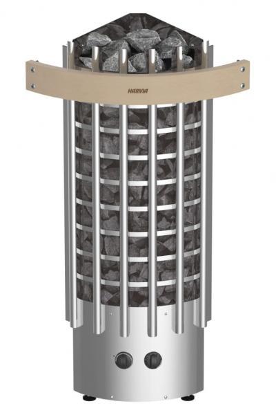Харвия Glow Corner TRC70 (со встроенным пультом, угловая)