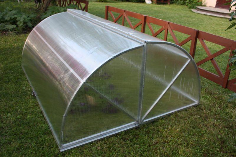 Парник Хлебница Двухсторонняя 1,1х0,75х2,0м (мини солнышко)