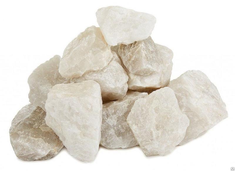 Камни кварц жаркий лёд колотый 10 кг.