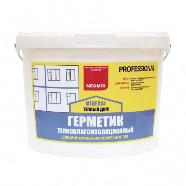 """Неомид герметик строительный """"NEOMID Professional"""" 3 кг. СОСНА"""