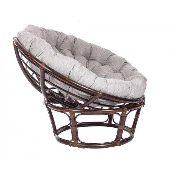 Кресло ПАПАСАН с подушкой (Орех)
