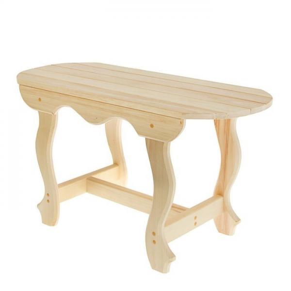Стол фигурные ножки 1,0 м ( липа)