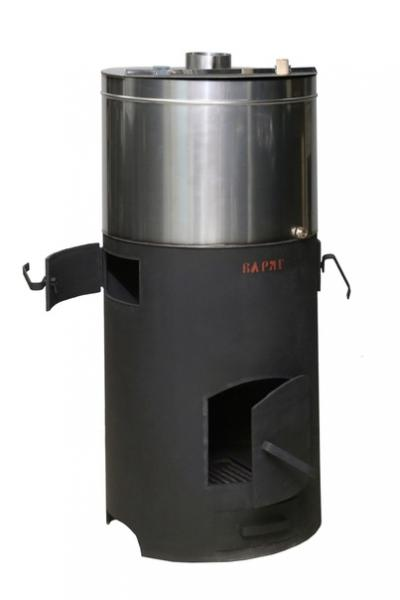 Печь Варяг -24м3 с баком нж 90 л.