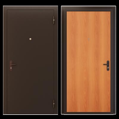 """Дверь мет. """"Стройгост"""" металл/рустикальный дуб"""
