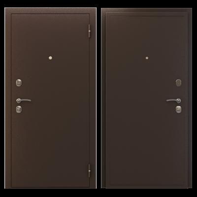 Дверь мет. Гарда металл/металл