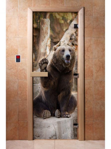 Дверь ФОТОПЕЧАТЬ А061 190*70 6мм,2петли