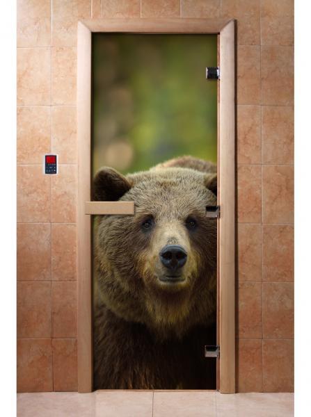 Дверь ФОТОПЕЧАТЬ А065 190*70 6мм,2петли
