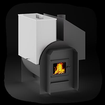 Банная печь Сабантуй 3Д 16С (цена без бака)