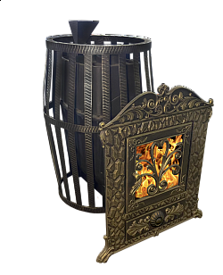 Чугунная Банная печь Верона 50