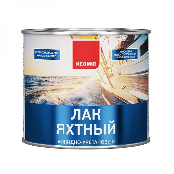Неомид лак яхтный (2,0л) глянцевый алк.-урет