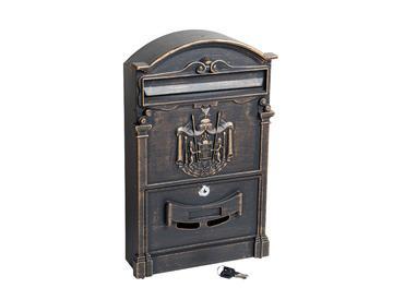 Ящик почтовый № 4010 бронза
