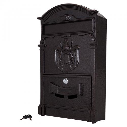 Ящик почтовый № 4010В старая медь