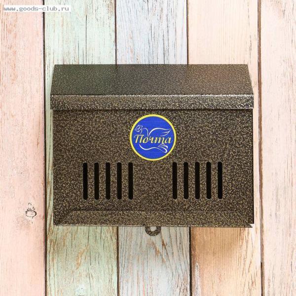 Ящик почтовый с замком шир. микс