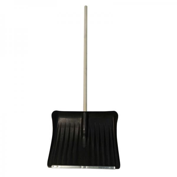 Лопата снеговая Комбат с черенком  с оц. планкой