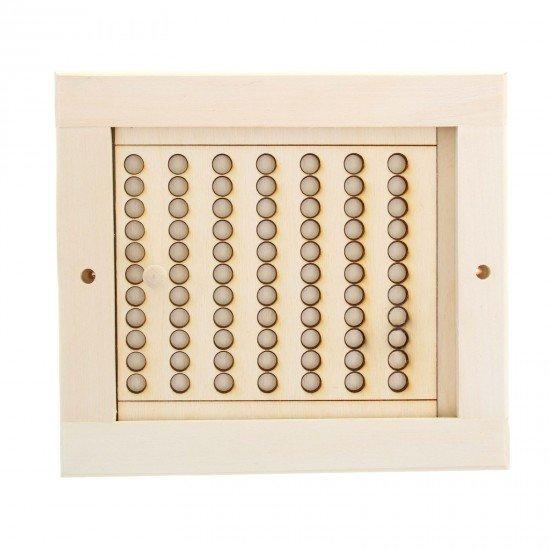 Вентиляционная решетка  с задвижкой (ВБ-3) 215*240 большая (ОЛЬХА)