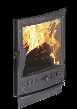 Дверца каминная чугун Берёзка 440*490 (с рамкой)