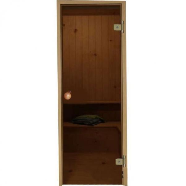 "Дверь ""DoorWood бронза1900х700 (круг. ручка) 6мм."