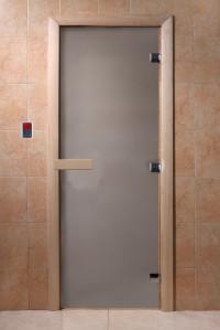 """Дверь """"DoorWood сатин 1900х700 6мм."""