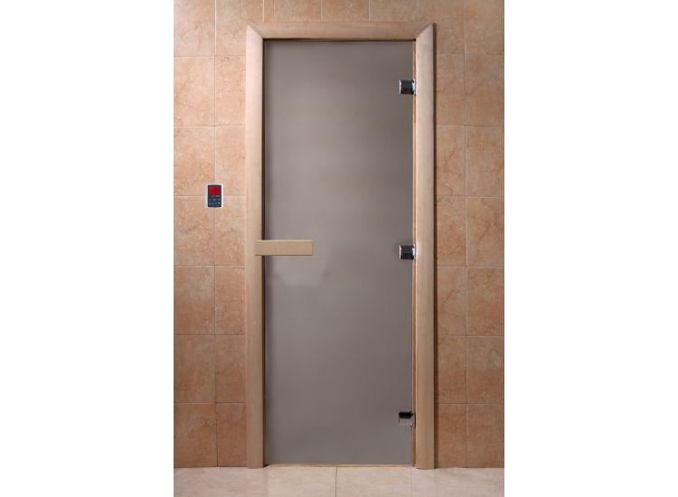 """Дверь """"DoorWood сатин 1900х700 8мм."""