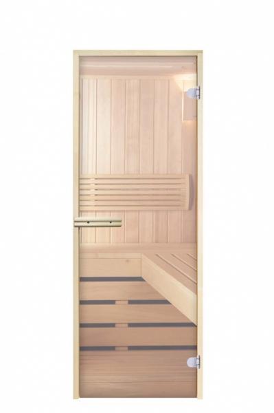 """Дверь """"Арта Стандарт прозрачная 1700*700 магнит"""