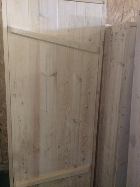 """Дверь """"банная с раскосиной"""
