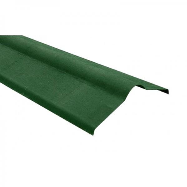 Коньковый элемент зеленый