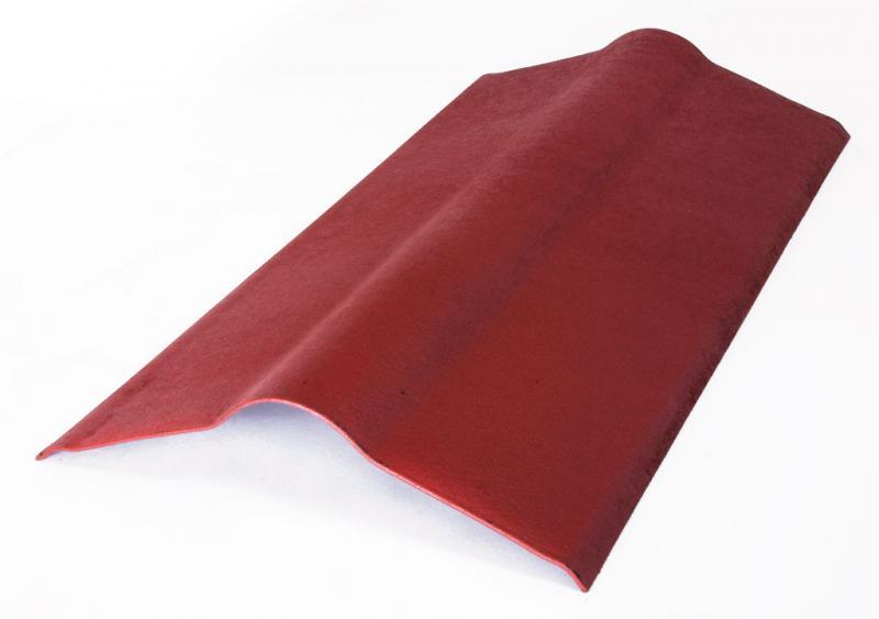 Коньковый элемент красный