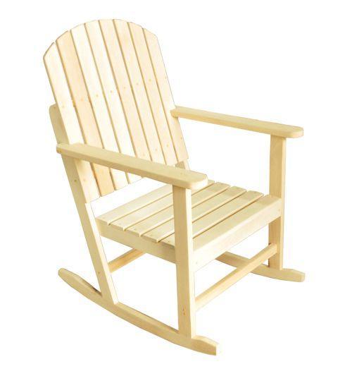 Кресло качалка (V) (липа)