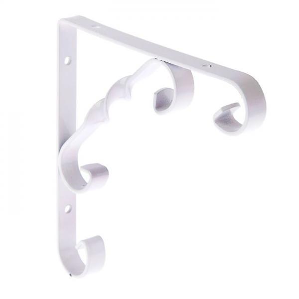 Кронштейн декоративный 150х150мм (тип1), белый 882342