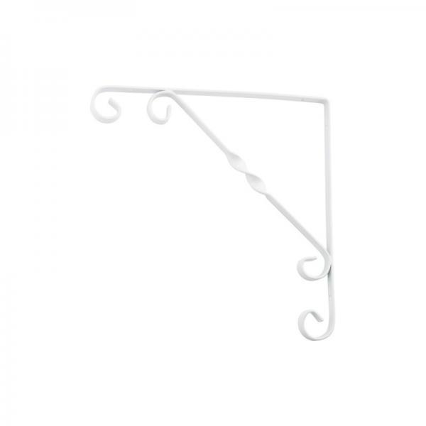 Кронштейн декоративный 250х250мм (тип1), белый 882344