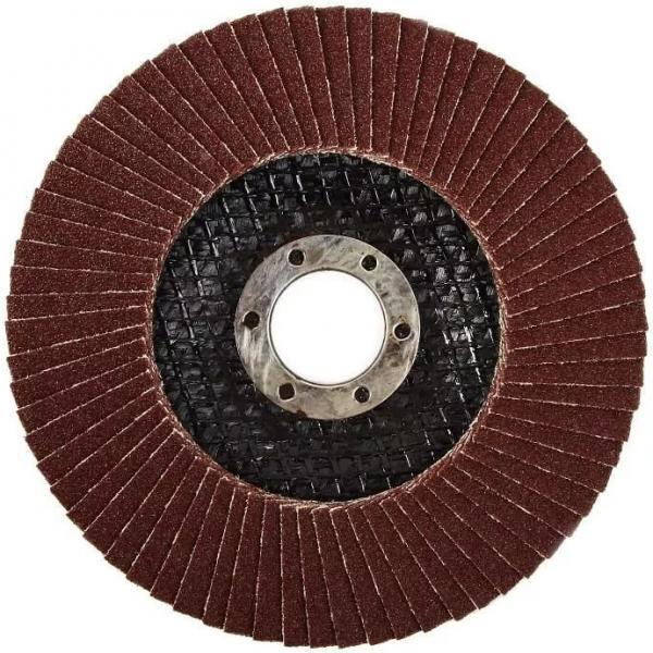 Круг лепестковый торцевой 125х22мм (Р100)