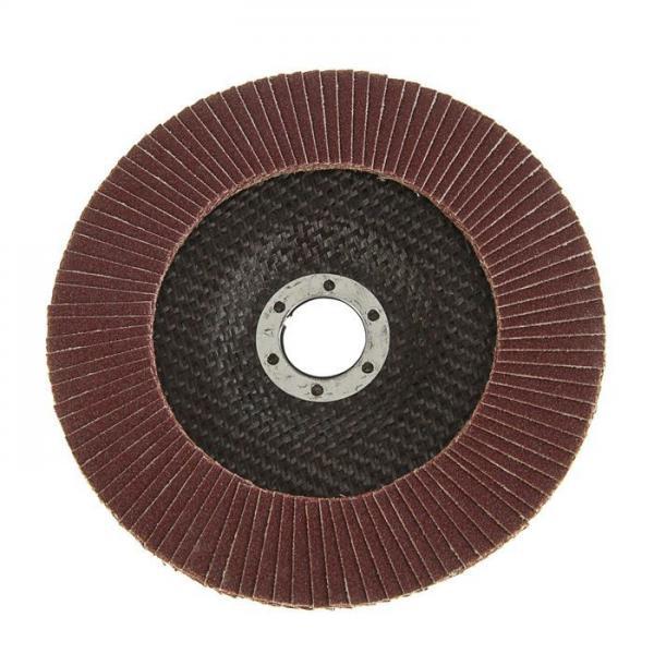 Круг лепестковый торцевой150х22мм (Р80)
