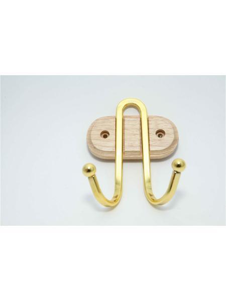 Крючок настенный двойной (АЕ-915)
