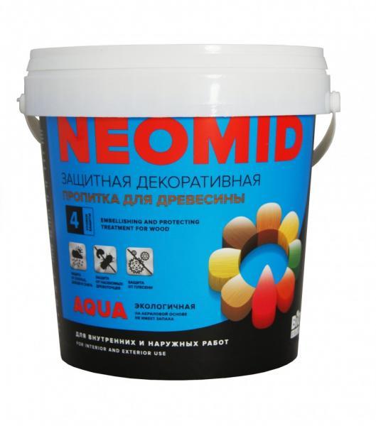 Неомид BIO COLOR aqua белый 0,9л.