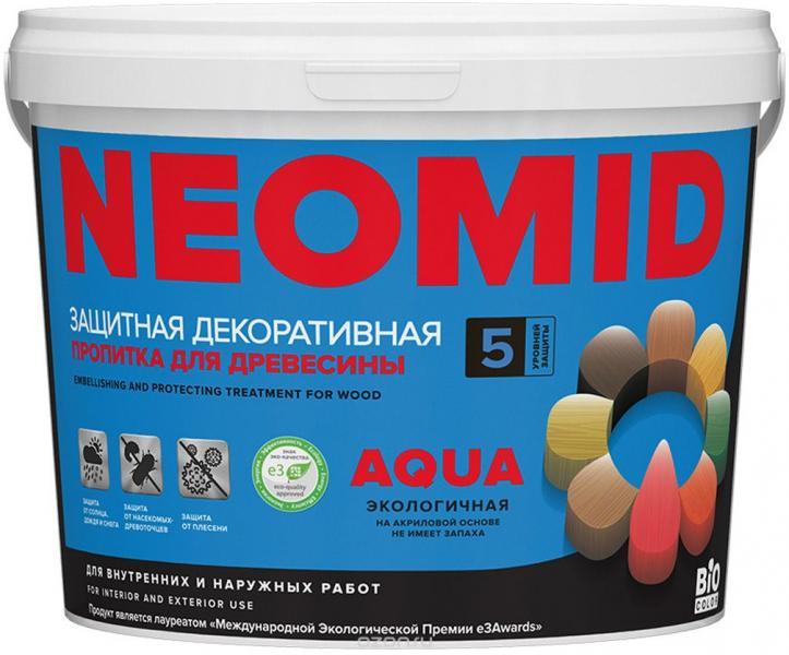 Неомид BIO COLOR aqua белый 2,3л.