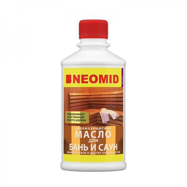 Неомид масло  для полока (баня/сауна)  (0,25л)