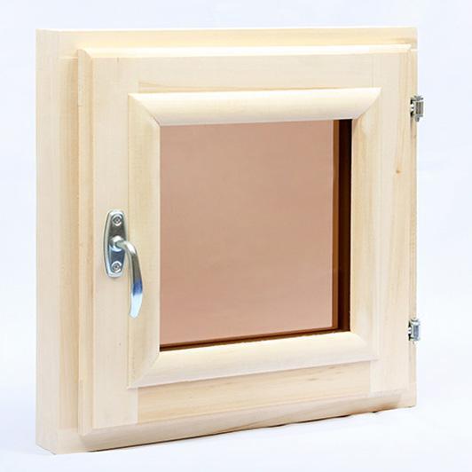 "Окно ""липа"" 350*350 стеклопакет"