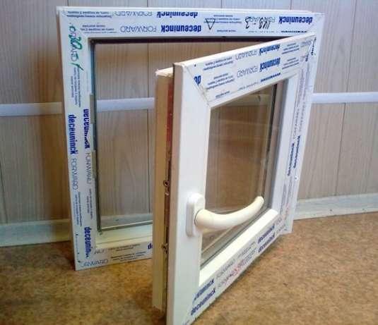 Окно ПВХ  480*550 стеклопакет