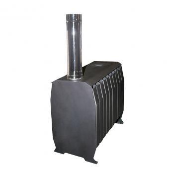 Печь отопительная «Веста ЧД Теплушка 200» с чугунной дверкой