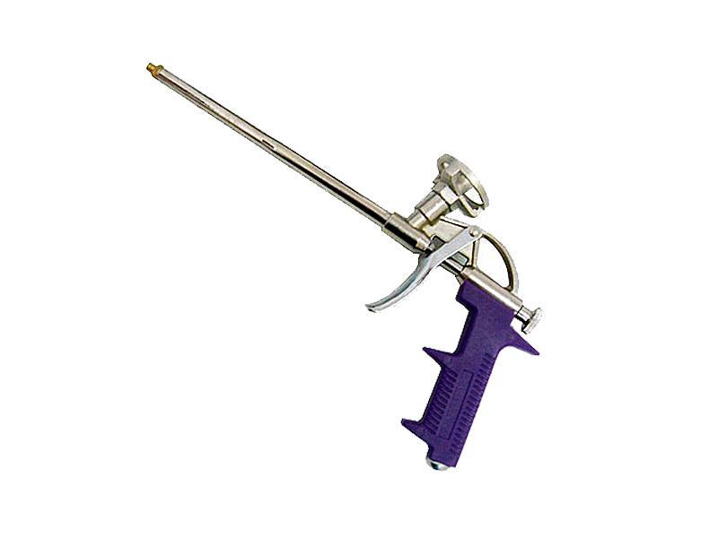 Пистолет д/монт. пены  Спарк люкс фиолет.