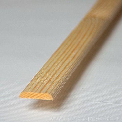 Планка хвоя 25мм*3,0м срощенная