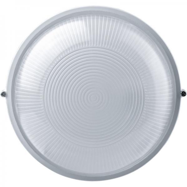 Светильник 1301НПП малый круг белый (ПЛАСТИК)