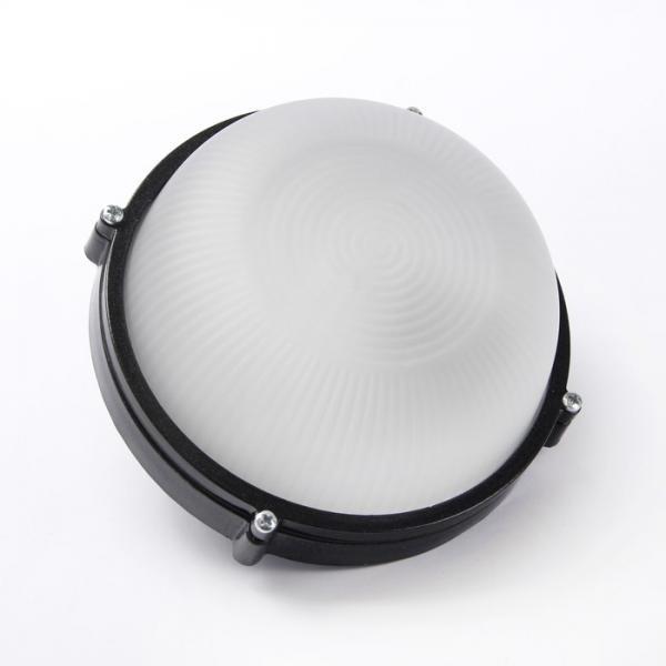 Светильник 1301НПП малый круг чёрный