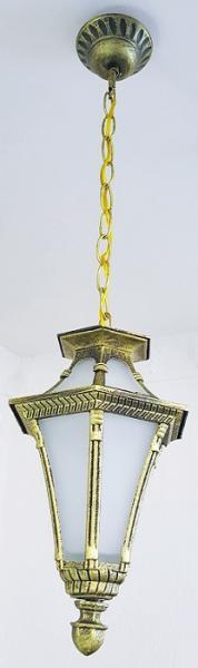 Светильник садовый 5113 подвесной  чёрное золото