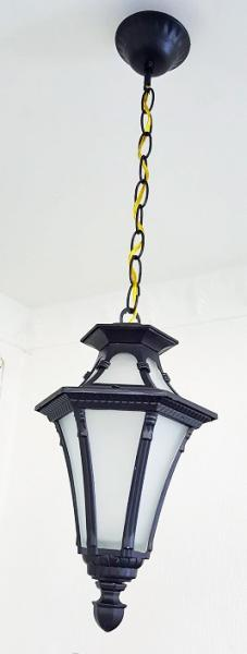 Светильник садовый 5113 подвесной  чёрный