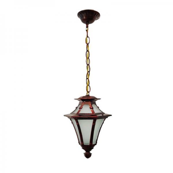 Светильник садовый 5113 подвесной красная медь