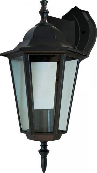 Светильник садовый 6101 настенный  чёрный