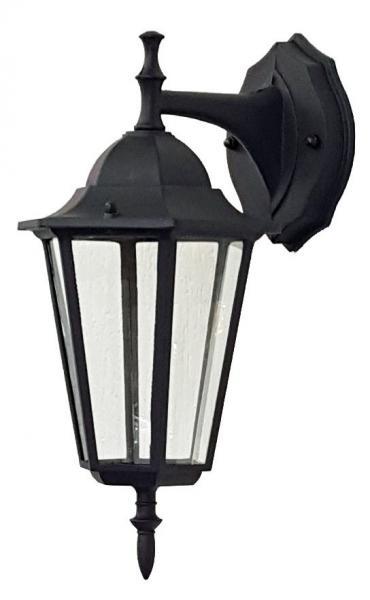 Светильник садовый 6102 настенный  чёрный