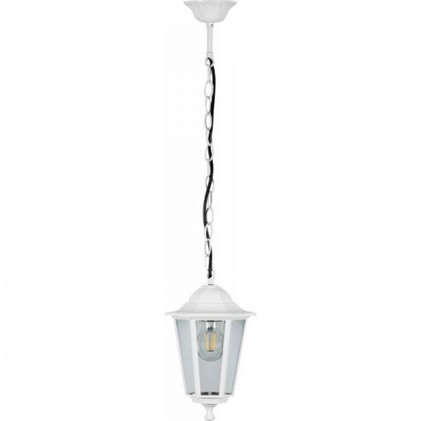 Светильник садовый 6205 настенный белый на цепочке 100w